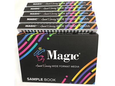 MAGIC SWATCHBOOK & BROCHURES